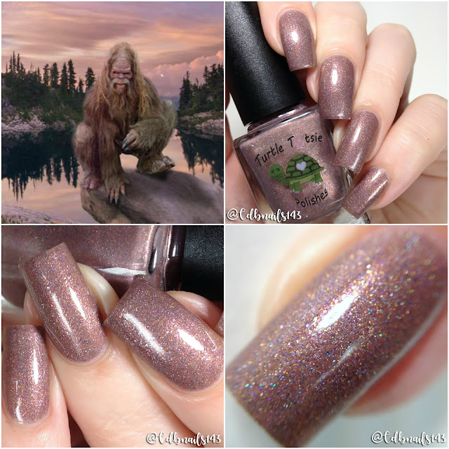 Turtle Tootsie Polishes-Gone Squatchin
