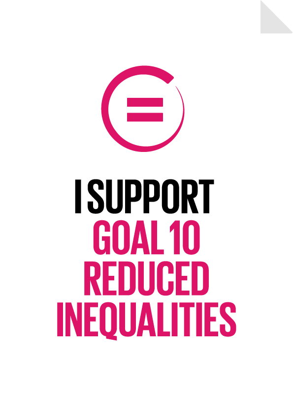 """Slingshot"" touches on SDG 10"