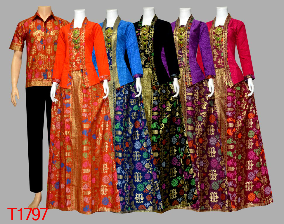 Model Baju Batik Rok Blus Mexican Blouse