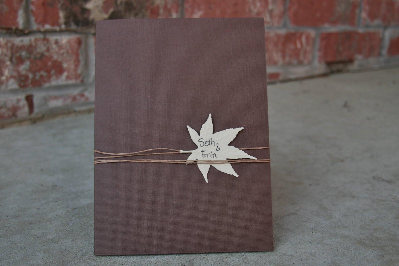 Diy Autumn Wedding Invitations: Neutral Wedding Invitations: Diy Wedding Invitations