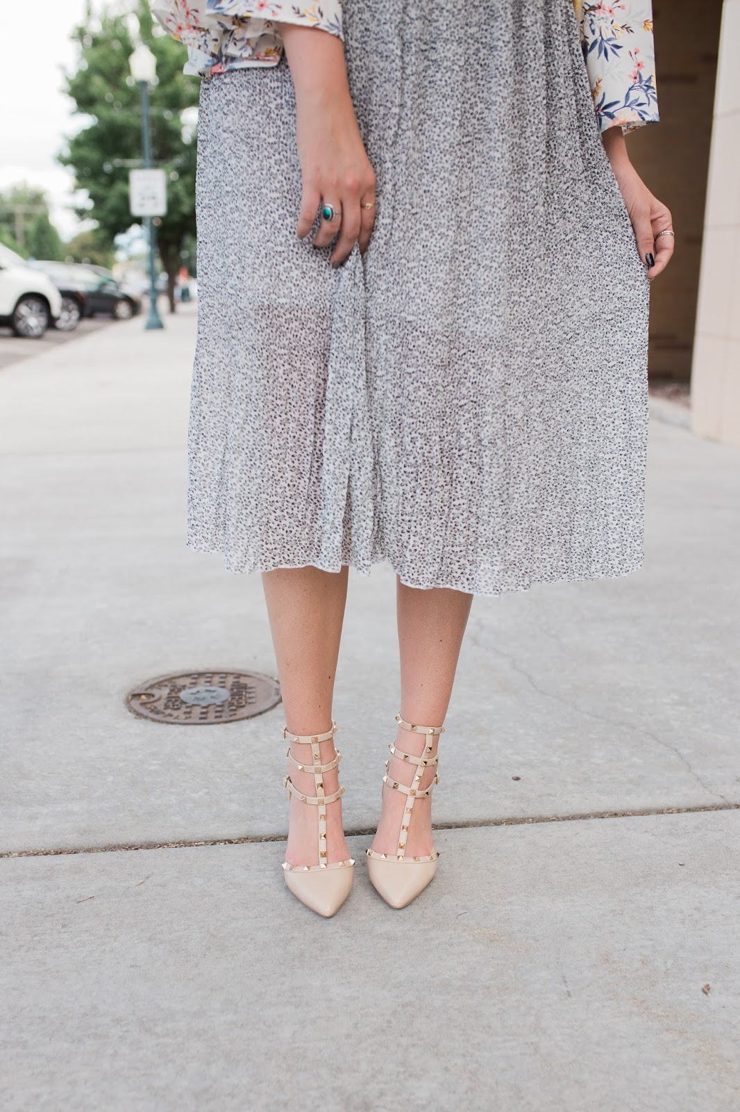 Studded Heels, Go Jane, Fashion Blogger