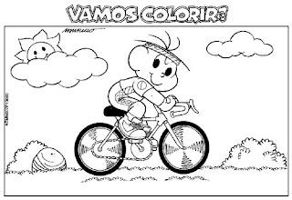 Colecao De Desenhos Da Turma Da Monica Para Colorir Desenhos