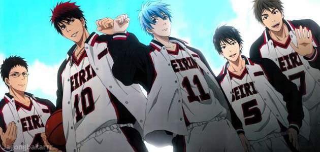 Ada sebuah tim basket SMP yang sangat terkenal karena sangat kuat dan tak terkalahkan Sinopsis Anime : Kuroko no Basket