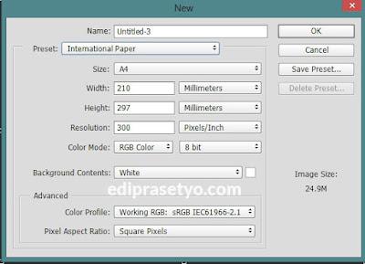 Cara Membuat File Baru Di Photoshop