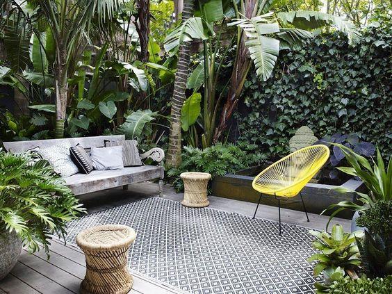 Taman Minimalis Dalam Rumah Tropis Taman Minimalis