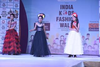 India Kids Fashion walk with photo