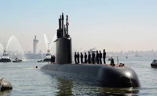 First Egyptian Navy Type 209/1400 submarine arrives to Egypt