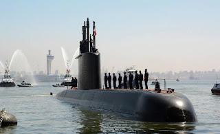 First Egyptian Navy Type 209/1400 submarine arrives to Egypt