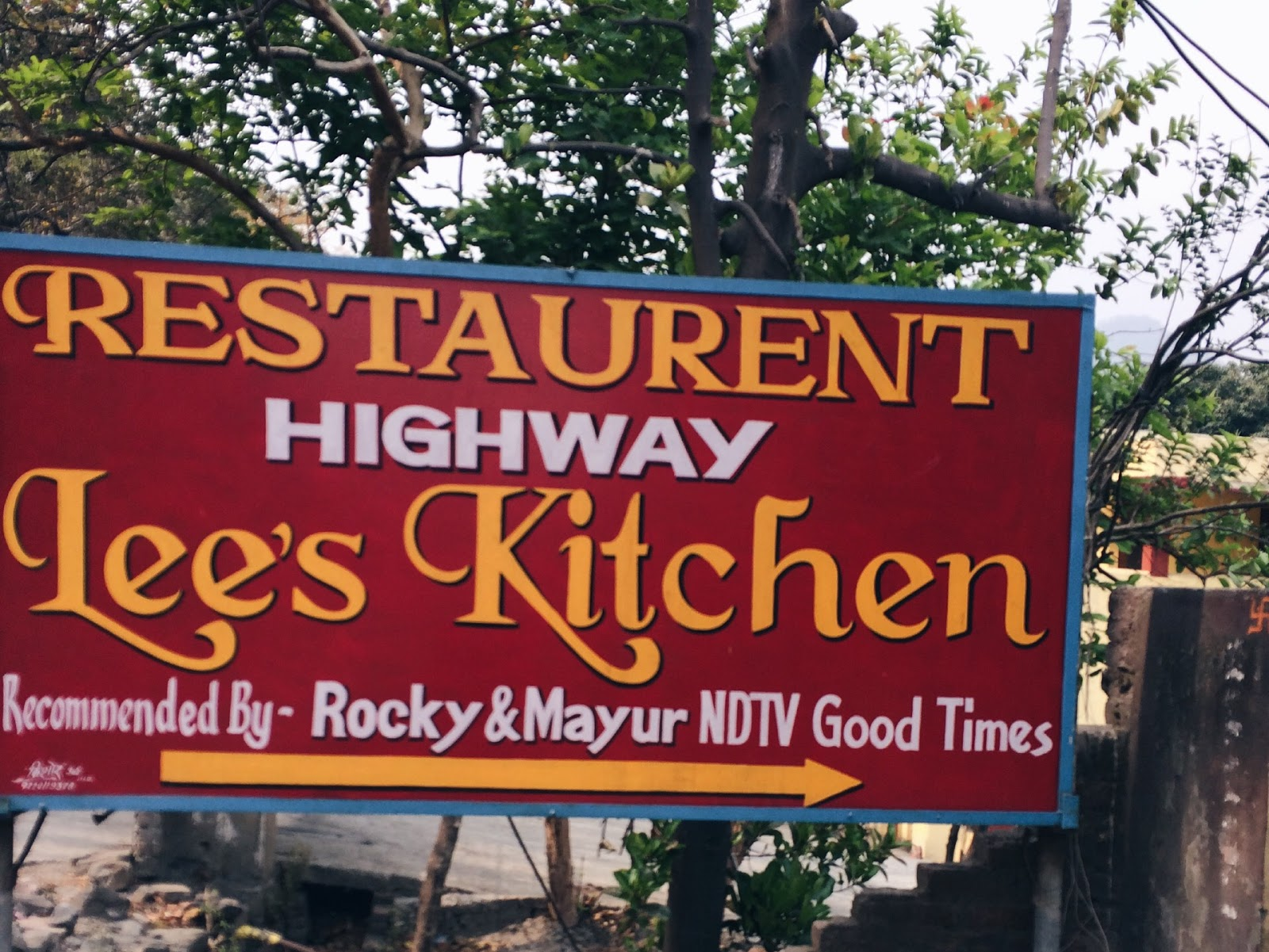 Sequins and Sangria: Stop at Lee's Kitchen on your way to Nainital