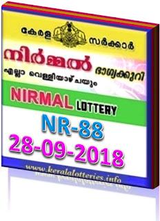 kerala lottery result from keralalotteries.info 28/9/2018, kerala lottery result 28.09.2018, kerala lottery results 28-09-2018, nirmal lottery NR 88 results 28-09-2018, nirmal lottery NR 88, live nirmal   lottery NR-88, nirmal lottery, kerala lottery today result nirmal, nirmal lottery (NR-88) 28/09/2018, NR 88, NR 88, nirmal lottery NR88, nirmal lottery 28.09.2018,