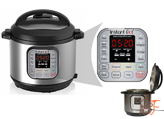 Instant-Pot-IP-DUO60-7-in-1-Programmable-Pressure-Cooker-6Qt-1000W-Stainless-Steel-Cooking-Pot-and-Exterior