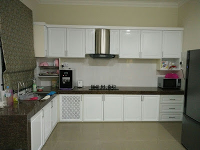 KC10 : KABINET DAPUR SOLID NYATOH ENGLISH STYLE (KG,KOR, MULONG)