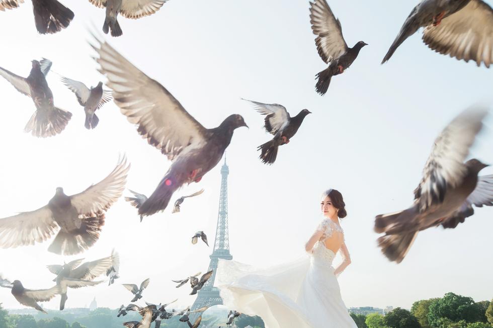 [海外婚紗] V&C   法國。巴黎 (PARIS)