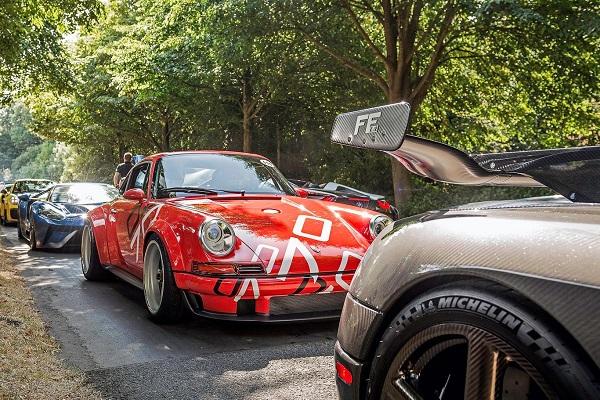 Porsche 911 964 preparado por Singer Goodwood