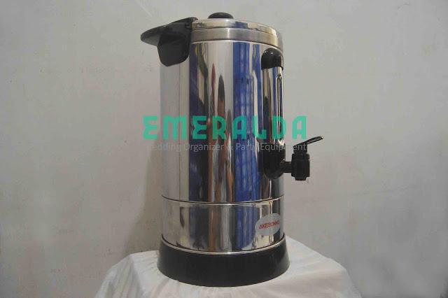 alat catering coffemaker oembuat kopi dan teh 15 liter