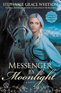 http://www.amazon.com/Messenger-Moonlight-Stephanie-Grace-Whitson/dp/1455529087/ref=sr_1_1?ie=UTF8&qid=1462230994&sr=8-1&keywords=Messenger+by+Moonlight