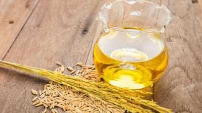 Rice Brain oil ke fayde. Benefits of Rice brain oil in Hindi.