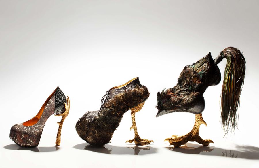 b21685668d1 O designer de sapatos inusitados de Masaya Kushino