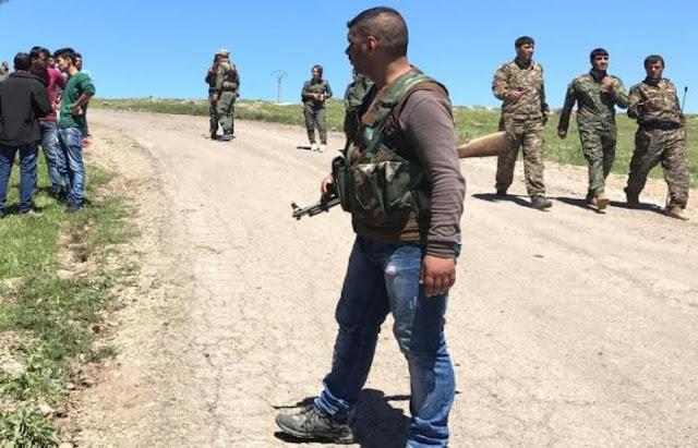 أكراد دمشق تستورد الأسلحة من أمريكا