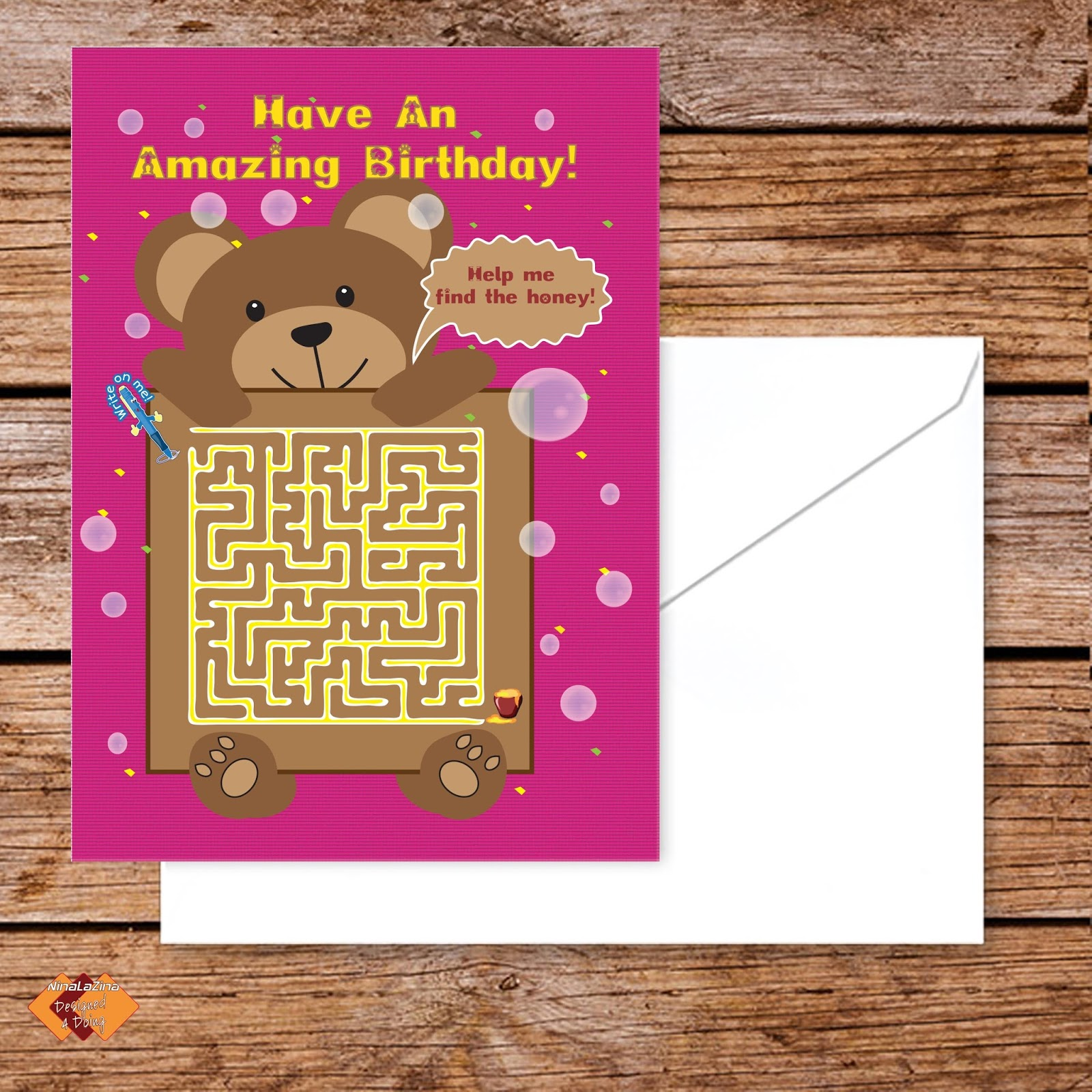 Designed4doing an interview with myself unusual greeting birthday unusual greeting birthday cards recipe word search sudoku puzzles food gifts designed4doing something with m4hsunfo