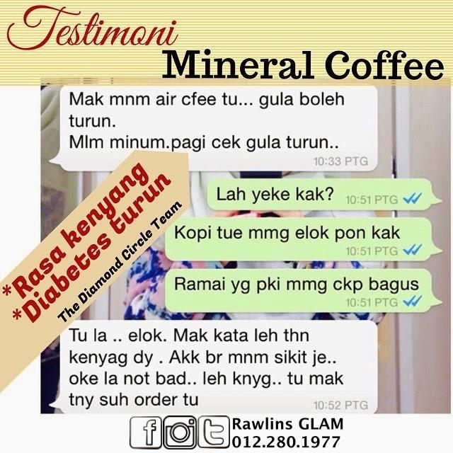 mineral coffee, min kaffe, testimoni min kaffe, coffee addicts, BMI, kopi untuk turun berat badan, kanser prostat, cancer prostate, men's health, sakit tuan, byrawlins,