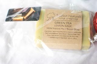 Treefort Naturals Green Tea Lemon Sage Soap