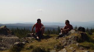 Uzsonna a skót hegyekben kirándulás