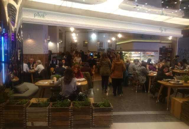 Plus Kitchen İstanbul Zorlu Center