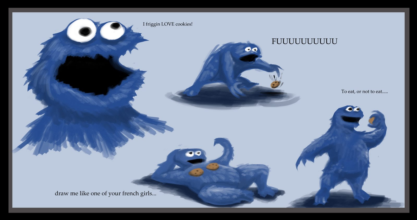 Mlg Cookie Monster Wwwtopsimagescom