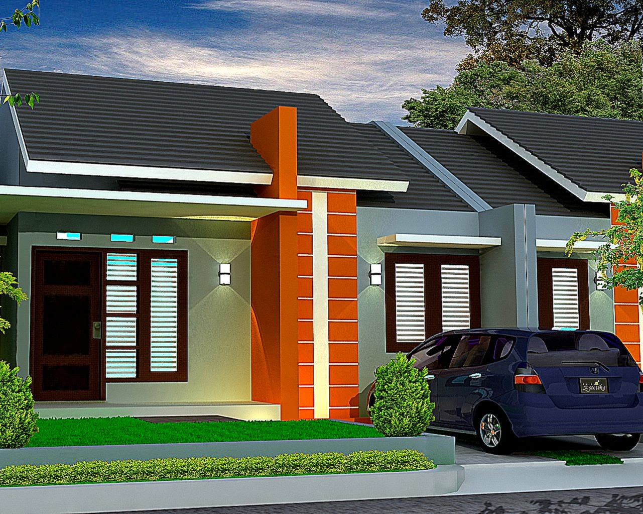 Contoh Design Rumah Minimalis  Design Rumah Minimalis