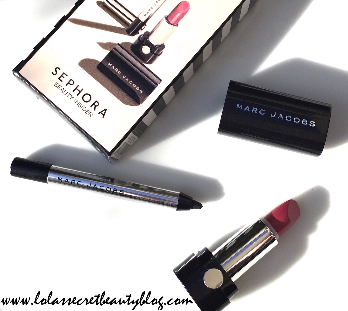 Marc Jacobs Sephora Beauty Insider Birthday Gift 2016