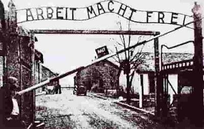 Ingresso del lager di Auschwitz