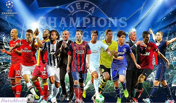 Player Stars On Champions League