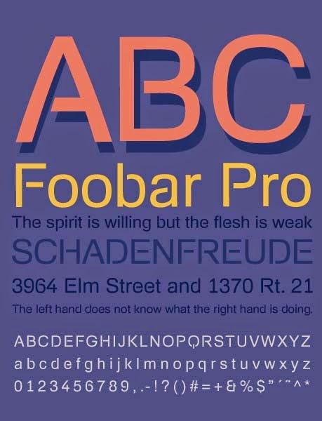 FoobarPro font