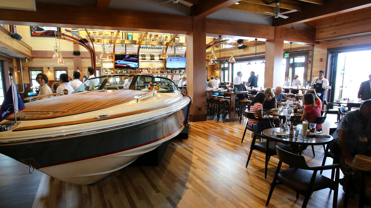 just a car guy the boat house restaurant at disney springs orlando