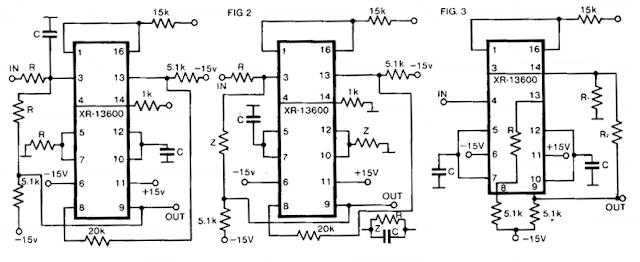 build a universal active filter circuit diagram