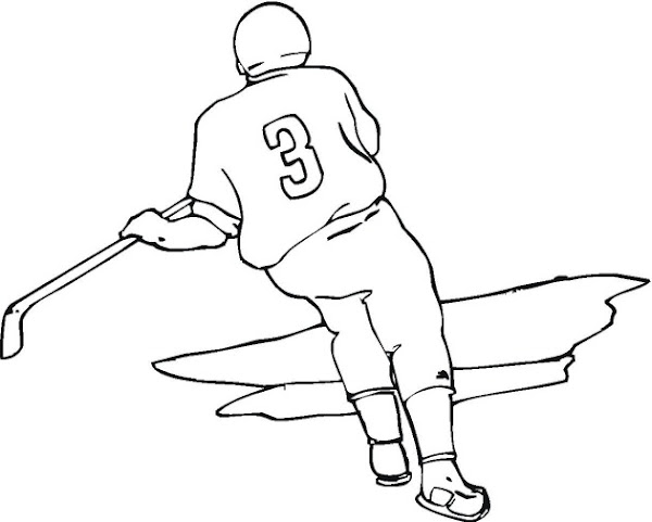 Disney ice skating coloring pages for Ice hockey coloring pages