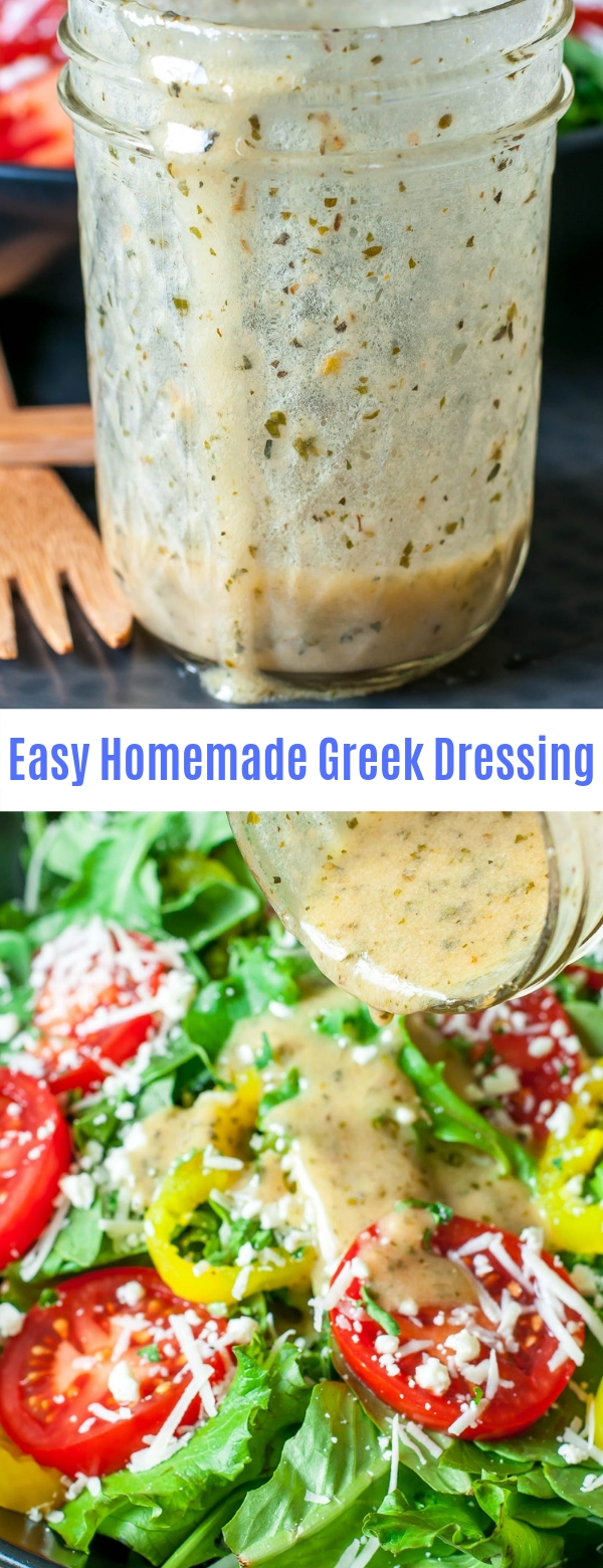 Easy Homemade Greek Dressing
