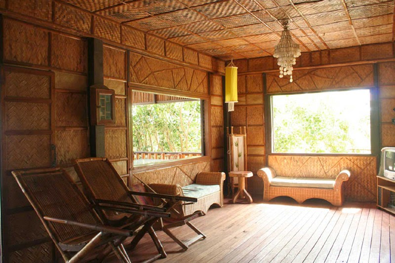 Unique Bamboo House Minimalist and Modern   Home Design Architectures Unique Bamboo House Minimalist and Modern