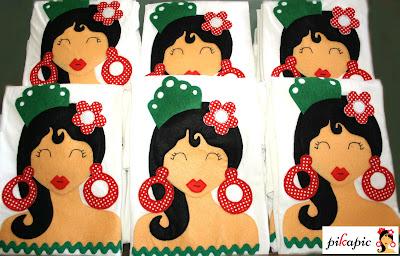 Camisetas flamencas Pikapic