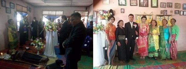 GEGER! Pernikahan Di Depan Jenazah Sang Ibu Di Samosir Menuai Sejumlah Respon Warganet