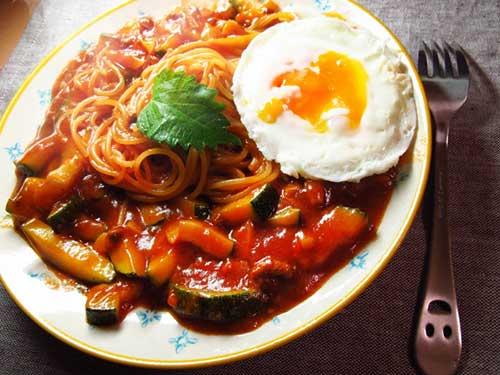 Ankake Spaghetti.