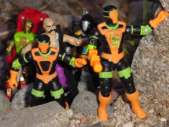 1991 BAT, Battle Android Trooper, 1986, Dr. Mindbender, Overkill, 1991