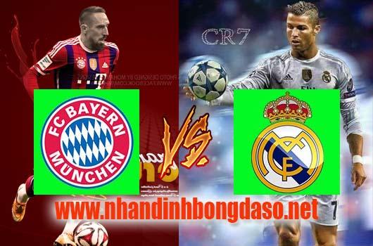 Nhận định Bayern Munich vs Real Madrid, 01h45 ngày 13-04