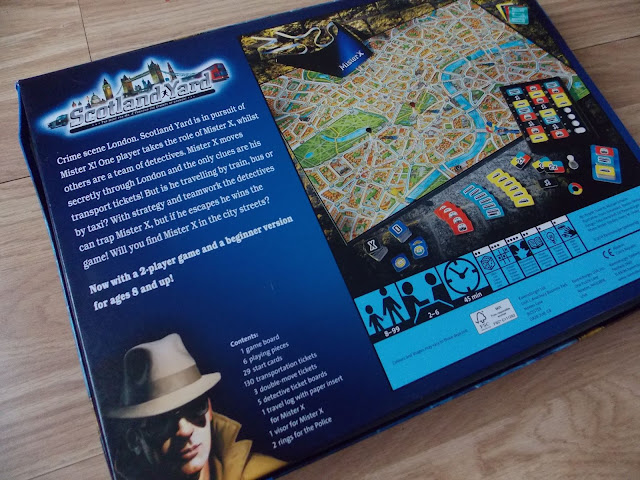 scotland yard from ravensburger box