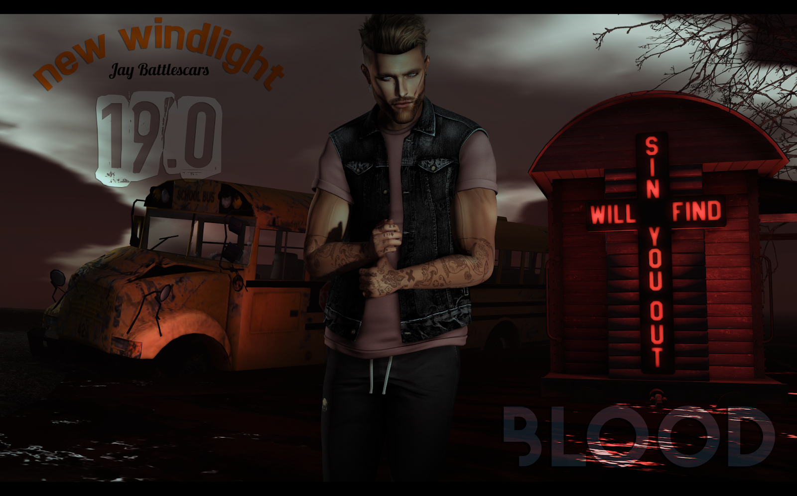 NEW WINDLIGHT: JAY BATTLESCARS 19.0 - BLOOD