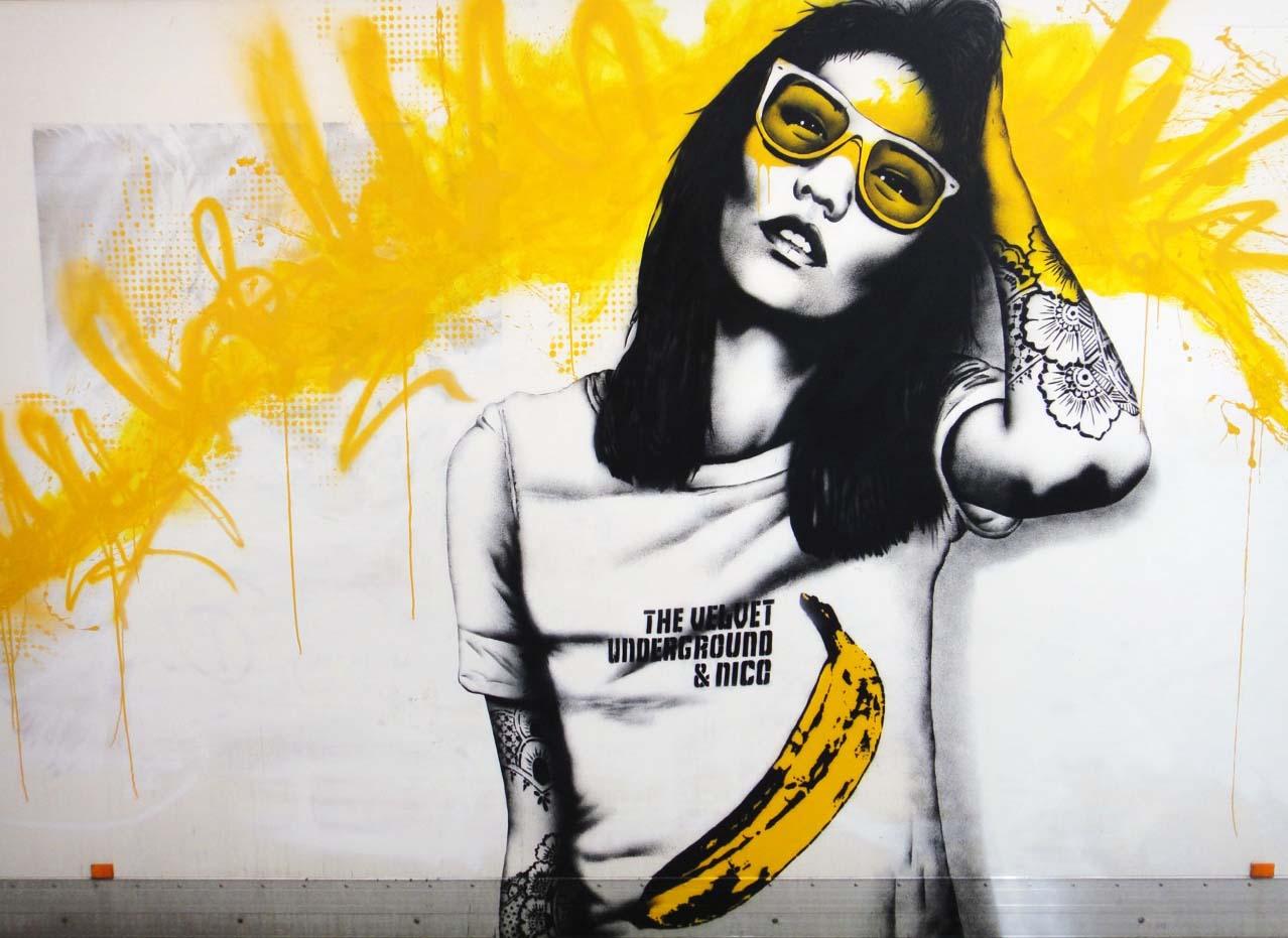 Banksy Or Fanksy Vote Here Kids Hunger For Death Banana Cops