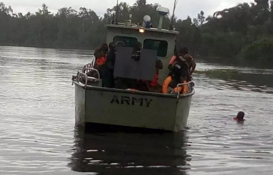 4 nigerian soldiers drown bayelsa