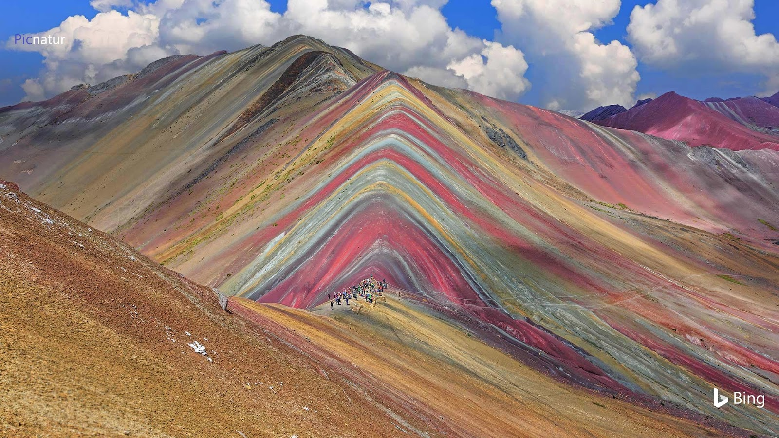 Vinicunca Mountain in the Cusco Region of Peru © sorincolac/Getty Images