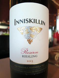 Inniskillin Reserve Riesling 2013 (89 pts)